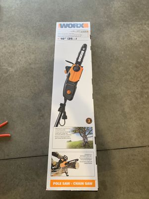 WORX pole saw for Sale in Fort Wayne, IN