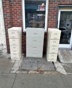Metal file cabinet four drawer for Sale in Lansdowne, PA