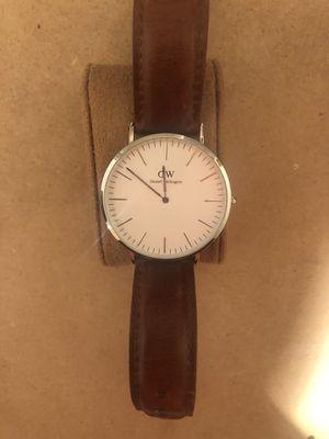 Watch - Daniel Wellington - Brown Strap for Sale in Littleton, CO