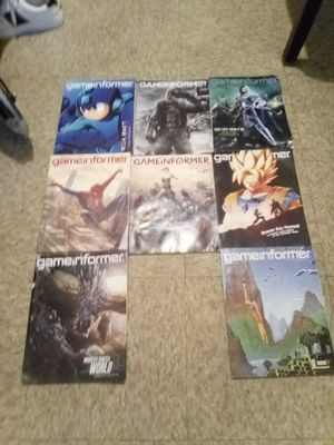 8 GameInformer Magazines for Sale in Riviera Beach, FL