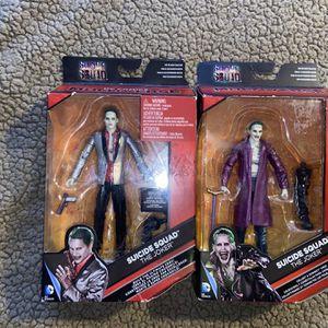 Suicide Squad The Joker Action Figures DC Comics Batman Collectibles for Sale in San Antonio, TX