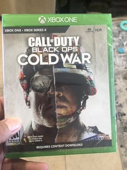 Call of Duty Black Ops Cold War for Xbox Series X and Xbox One brand new sealed 50$$$ for Sale in Chula Vista,  CA
