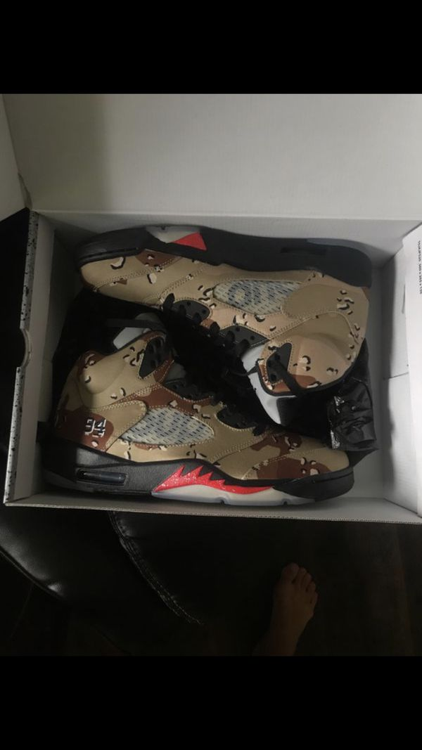 Supreme x Jordan 5 deadstock (never worn) size 11