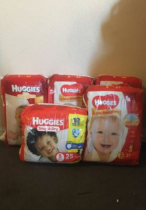 Huggies (diapers) for Sale in Covina, CA