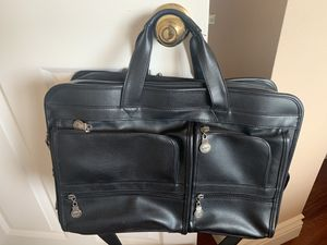 Leather bag briefcase for Sale in Fillmore, CA
