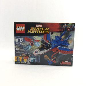 Lego 76076 Captain America Jet Super Hero for Sale in Sully Station, VA