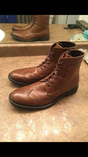Men's Kenneth Cole Leather Boots - Size 9 for Sale in Rockville, MD