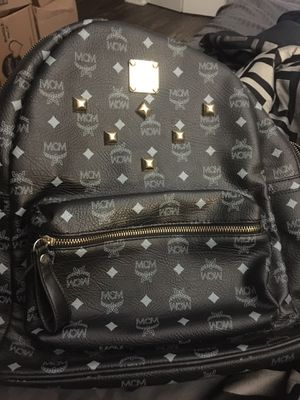 Black and gold MCM backpack alike brand new for Sale in Arlington, TX