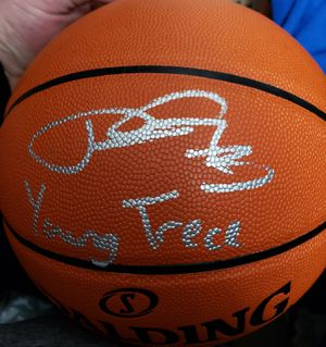 Autographed NBA Basketball with COA for Sale in Puyallup, WA