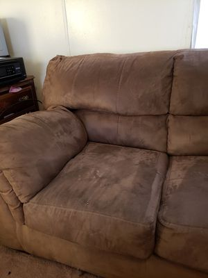 Brown couch for Sale in Angier, NC