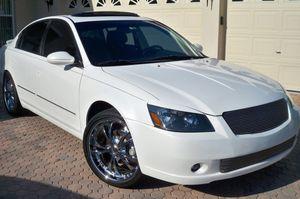 2005 Nissan Altima SL White DK for Sale in Salt Lake City, UT