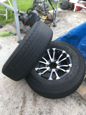 Trailer wheels and tires (offers) for Sale in Miami, FL