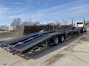 2017 sun country 5 car trailer like new for Sale in Roselle, IL