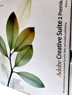 Adobe Creative Suite 2 Premium - Education - Everything Included for Sale in Petaluma,  CA