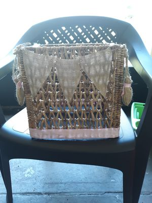 Home made hot air balloon basket for Sale in Brooksville, FL
