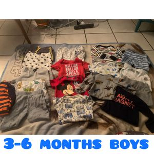 3-6 months boys bundle for Sale in Fresno, CA