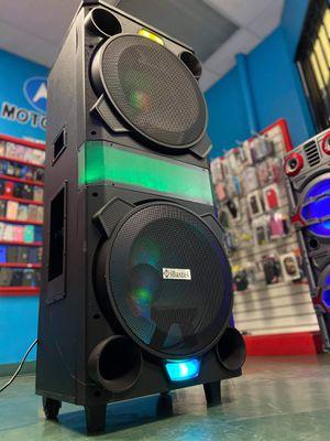 "SUPER BOCINON WOOFERS 15"" 13,800 Watts 🔊🔊 KARAOKE Y BLUETOOTH 📲 2 MICROFONOS INALAMBRICOS for Sale in Huntington Park, CA"