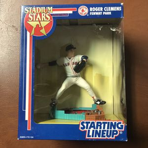 Starting Lineup Stadium Stars Roger Clemens at Fenway Park 1992 by Kenner Toys This collectible action figure is brand new and in great condition fo for Sale in Santee, CA