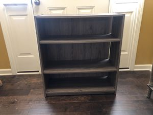 Gray book shelve. for Sale in Knightdale, NC