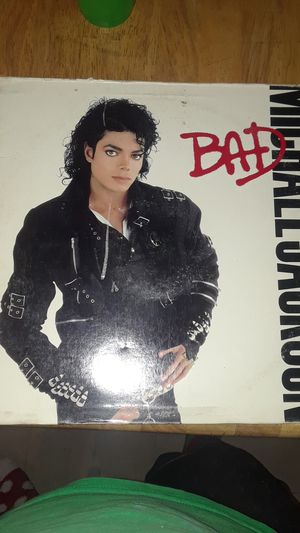 Michael Jackson bad record for Sale in Greenville, MS