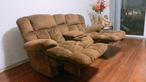 Reclining sofa for Sale in South Miami, FL