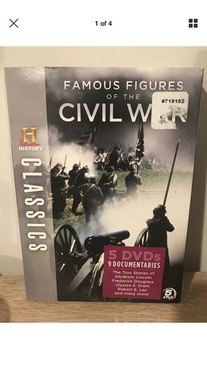 Civil war famous figures history channel classics for Sale in Sterling, VA