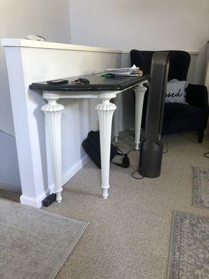 Antique black stone table for Sale in Martinez, CA