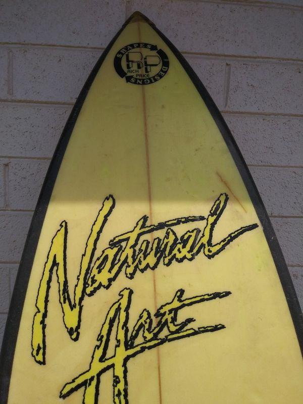 Natural Art surfboard