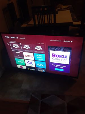 55 inch 4k tv for Sale in San Leandro, CA