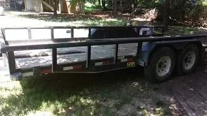18ft 86inch trailer with pull out ramps. for Sale in Fort Worth, TX