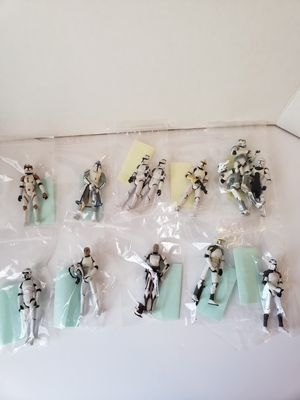 Star wars clone troopers action figures toy lot for Sale in Peoria, AZ
