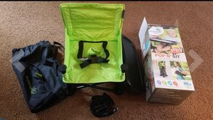 Summer Infant Green and Grey Pop and Sit Portable booster seat for Sale in Oceanside, CA