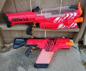 ($80) NERF RIVAL MXVI-4000 & MVXII-10K for Sale in Stockton, CA