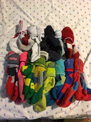 TEN PLUS NIKE ELITE SOCKS All CLEAN for Sale in Rockville, MD