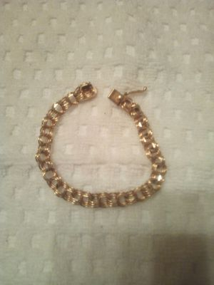 Vintage 1/20 12k gold filled chain bracelet for Sale in Clovis, CA
