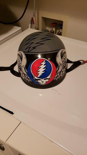 Collectible Grateful Dead Motorcycle Half Helmet for Sale in Kent, WA