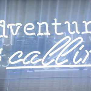 """Neon Sign """"Adventure Is calling"""" for Sale in Long Branch, NJ"""