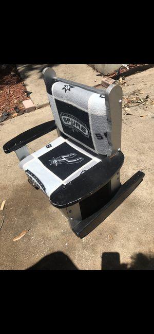 San Antonio spurs kids rocking chair children's for Sale in San Antonio, TX