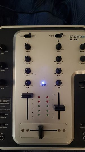 Stanton 2 Channel DJ Mixer M.202 for Sale in Poway, CA