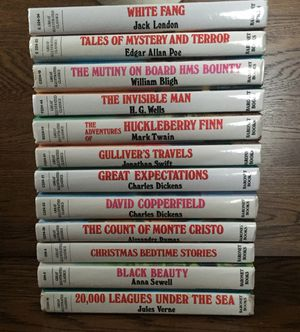 GREAT ILLUSTRATED CLASSICS HARDCOVER BOOKS ~LOT OF 12~ for Sale in Saint Charles, MO