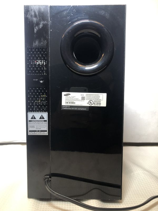 Samsung PS-WE450 Wireless Bluetooth Active Subwoofer for HW-E450 Soundbar