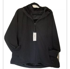 Nwt William Rast Unisex Men's Snow Outer Hooded Zip Up Fleece Lined Shell Jacket for Sale in San Diego, CA