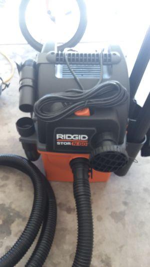 Ridgid store and go vacuum for Sale in Phoenix, AZ