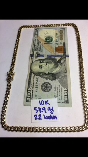 10K Solid Gold Chain 🇨🇺 Links 57.9Gr 22 Inches for Sale in Miramar, FL