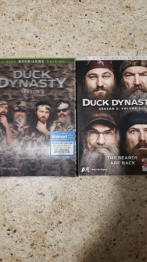 Duck Dynasty DVD's for Sale in Odessa, TX