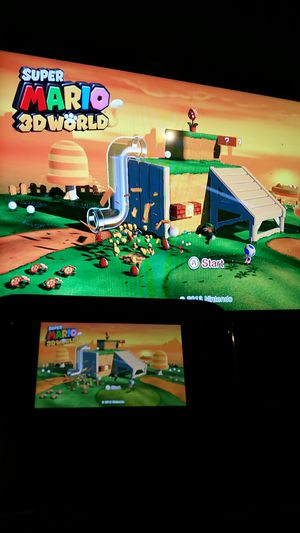 Wii U with Super Mario 3d World for Sale in San Leandro, CA