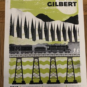 What's Eating Gilbert 2013 Limited Edition Concert Tour Poster for Sale in Lynn, MA