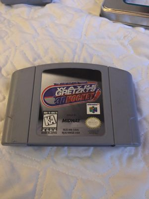 Wayne Gretzky's 3D hockey Nintendo 64 for Sale in Pembroke Pines, FL