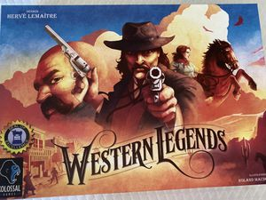 Western Legends Board Game for Sale in Whittier, CA