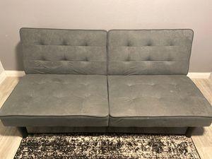 Grey futon for Sale in Moreno Valley, CA